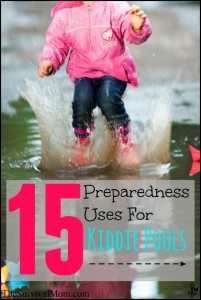 15 Preparedness Uses for Kiddie Pools