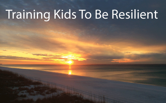 training kids resilient