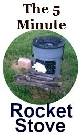 Try it Today! The 5-Minute Rocket Stove