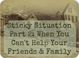 Sticky Survival Situation: Family refuse to prepare but plan on coming to my house, Part 2