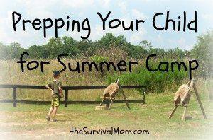 Summer Camp Prep