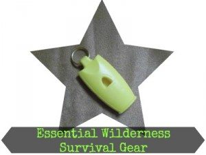 Wilderness Survival Gear