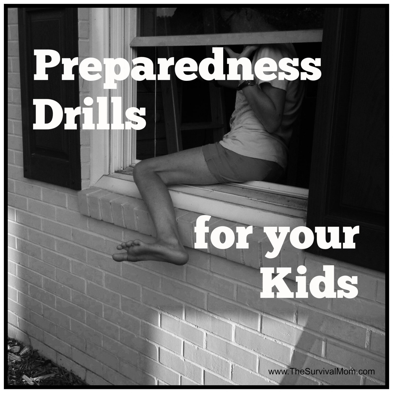 Preparedness Drills, survival skills for kids, fire drills, emergency drills