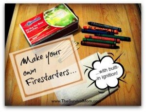 Try it Today! Fire Starters with Built In Ignition