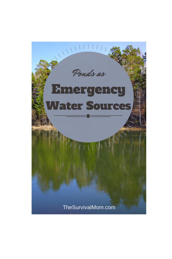 Ponds emergency water