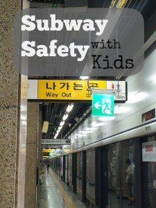 Subway Safety with Kids