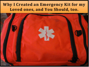 Why I created an emergency kit for my loved ones, and you should, too
