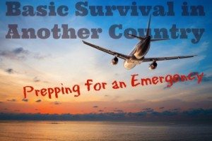 Basic Survival in Another Country: Prepping For an Emergency