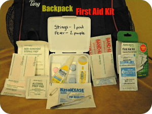Backpack First Aid Kit for Kids — A Must-Have!