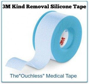 "3M™ Kind Removal Silicone Tape – The ""Ouchless"" Medical Tape"