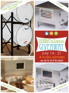 HERCulean Giveaway with 4 Lucky Winners!