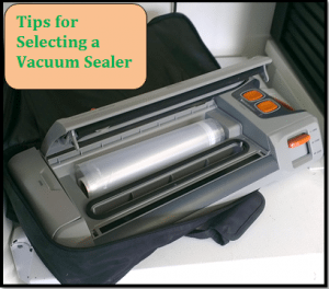 6 Tips for Selecting a Vacuum Sealer