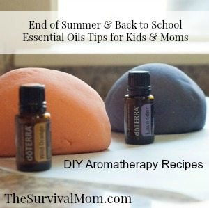 doTERRA Playdough The Survival MOM Essential Oil Tips