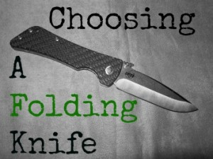 Choosing a Folding Knife
