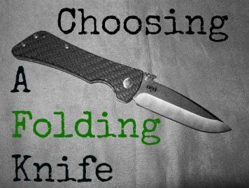 Choosing a Folding Knife
