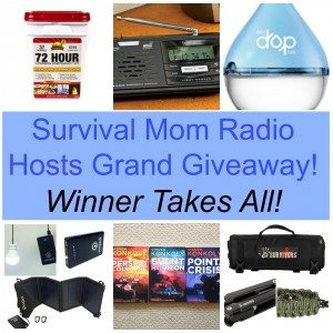 Survival Mom Radio Network Hosts GRAND GIVEAWAY!