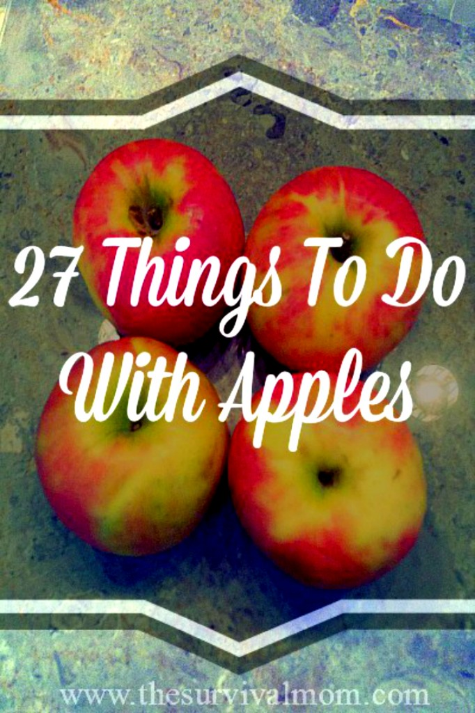 things to do with apples