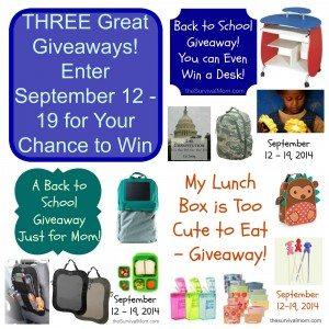 3 giveaways