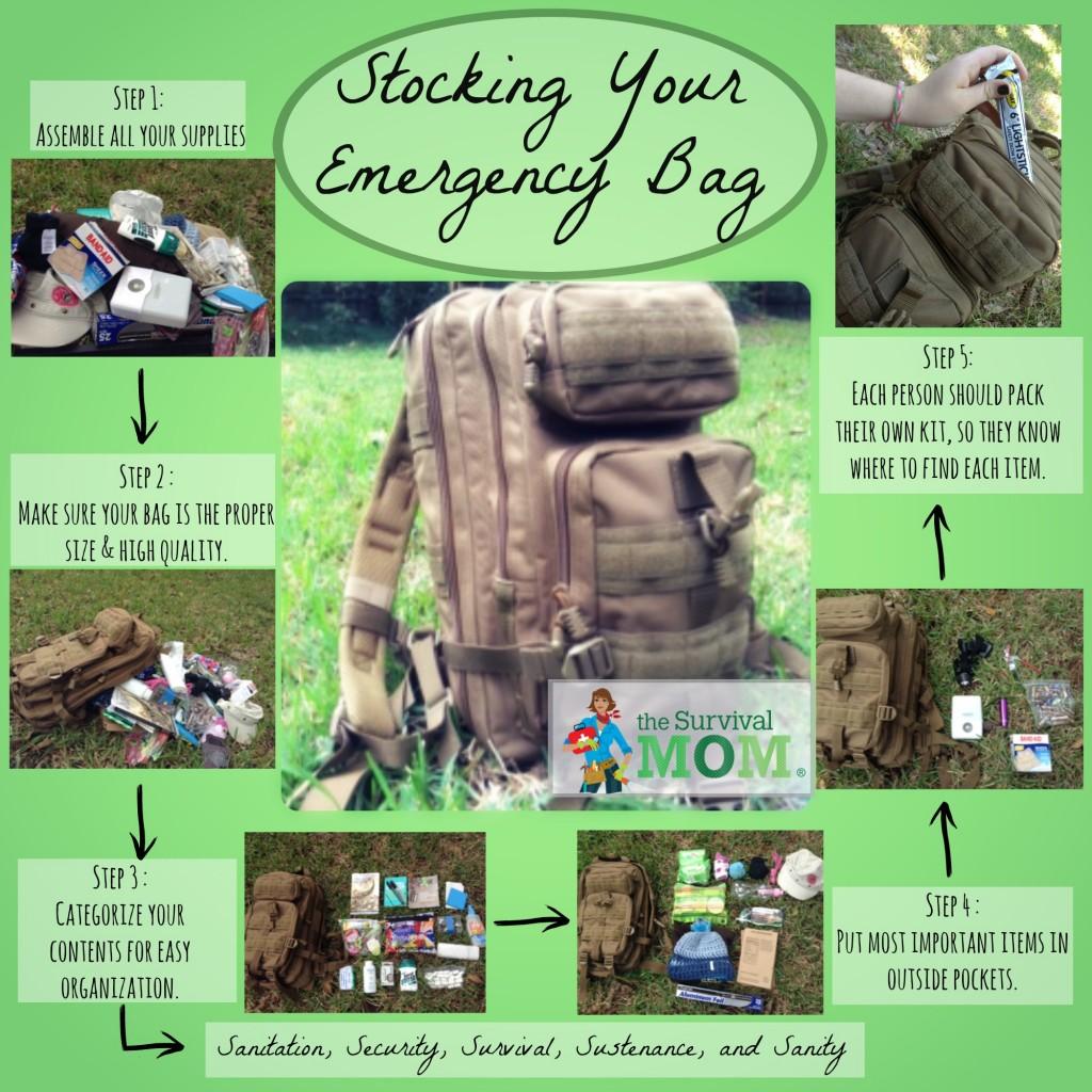 packing emergency kit