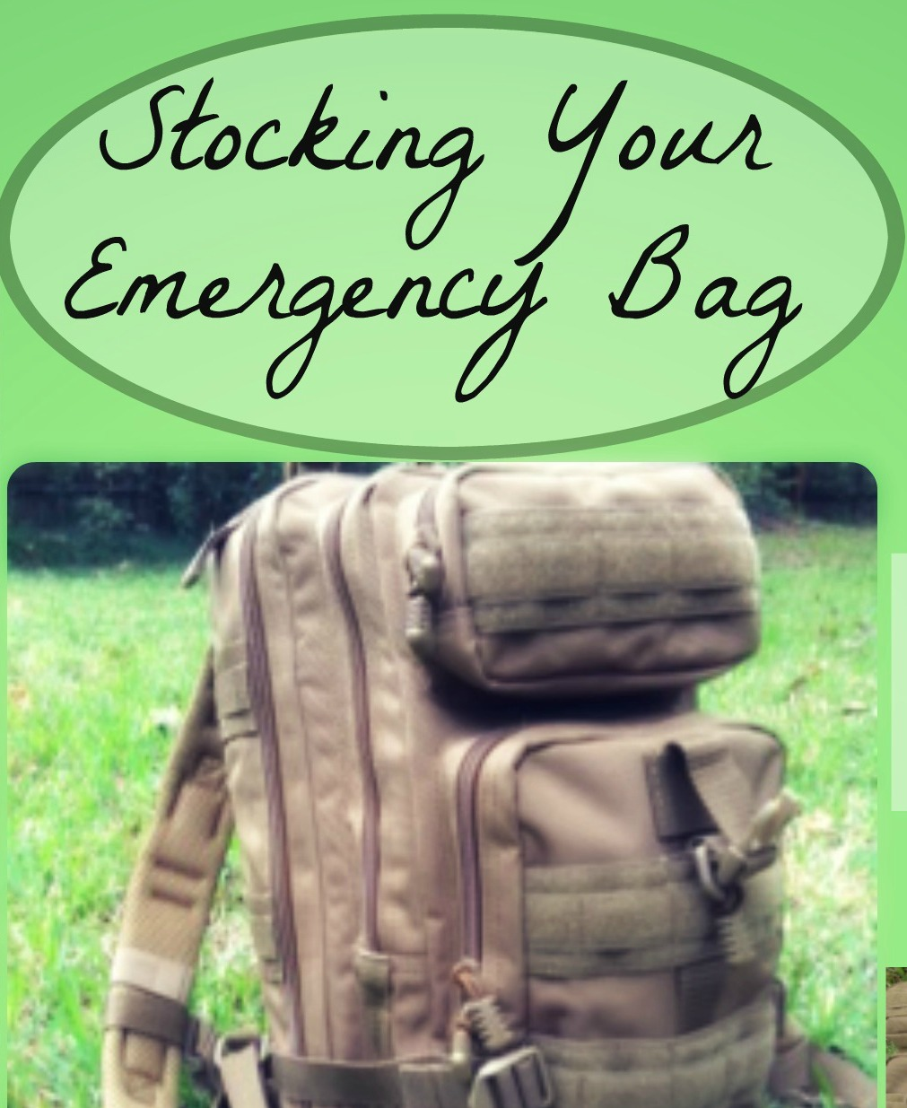 5 Steps in Packing an Emergency Kit with Flying Circle Bags