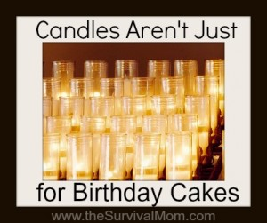 Candles Aren't Just For Birthday Cakes
