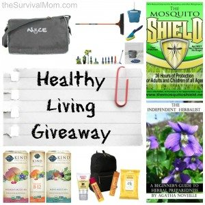 Living Healthy GIVEAWAY — 2 Prize Packages!