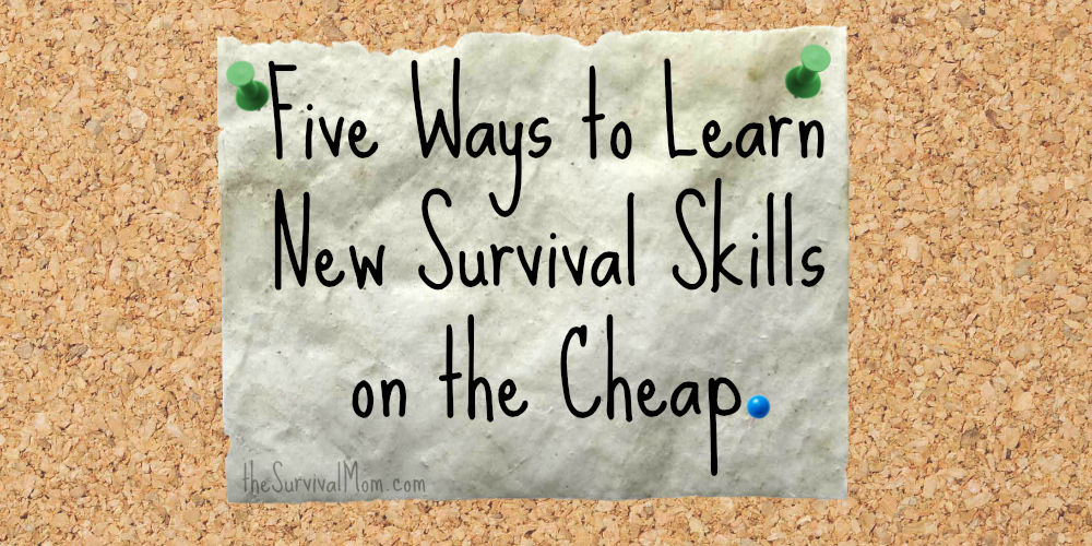 5 survival skills cheap