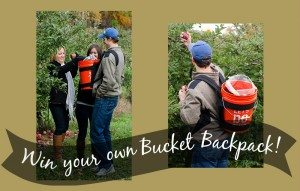 CONTEST: What would you put in YOUR Bucket Backpack?