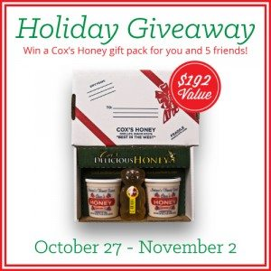 Merry Christmas Cox's Honey Giveaway