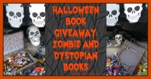 Halloween Book GIVEAWAY: Zombie and Dystopian Books