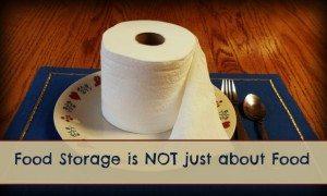 Toilet Paper is Not Food