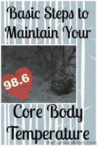 Basic Steps to Maintain Your Core Temperature