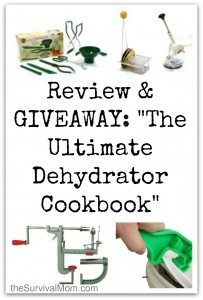 The Ultimate Dehydrator Cookbook: Review