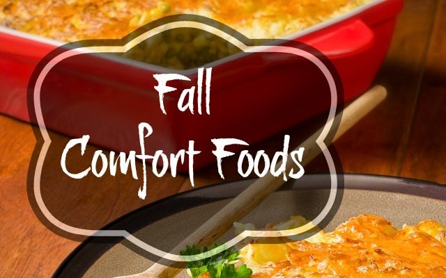 Fall Comfort Foods from Augason Farms