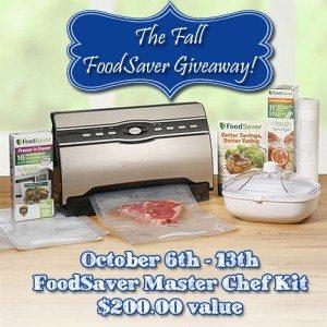 FoodSaver Group Giveaway