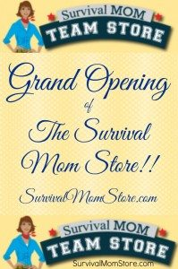Ta Da! Check Out the NEW SURVIVAL MOM TEAM STORE!