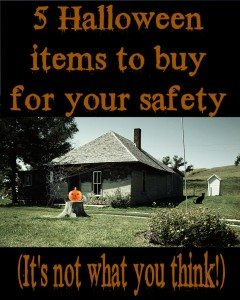 5 Halloween items to buy for your safety (it's not what you think!)