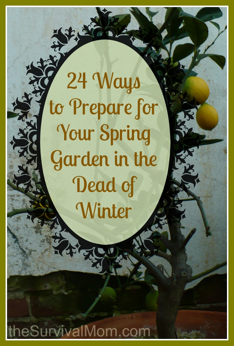 24 Ways To Prepare For Your Spring Garden In The Dead Of Winter Survival Mom