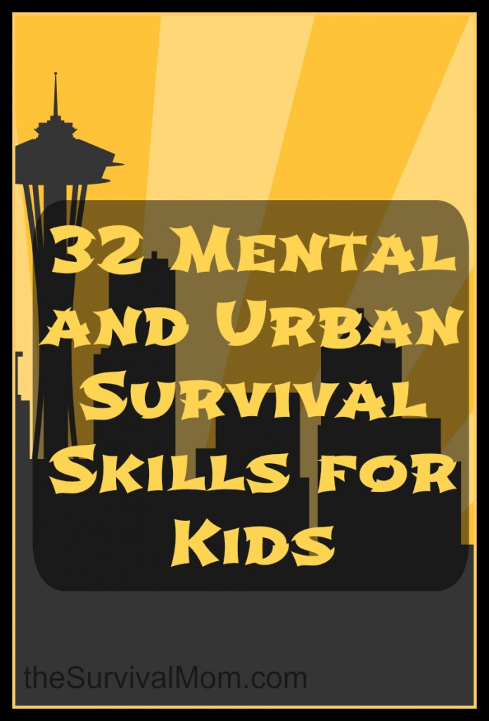 32 mental and urban skills for kids
