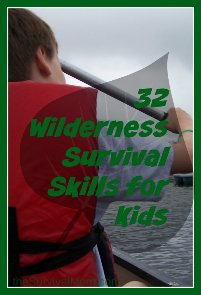 32 wilderness survival skills