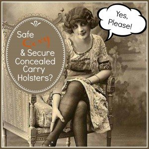 Safe, Sexy, Secure Concealed Carry Women's Holster