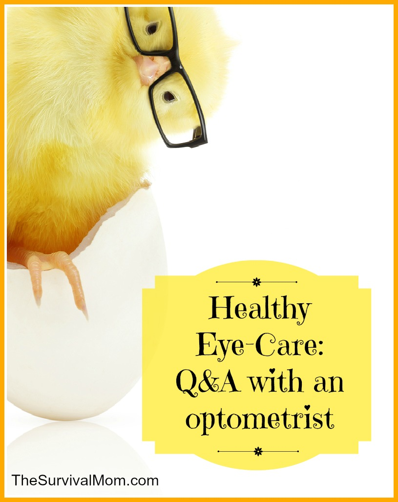 healthy eye care