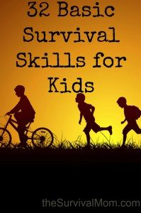 32 Basic Survival Skills for Kids