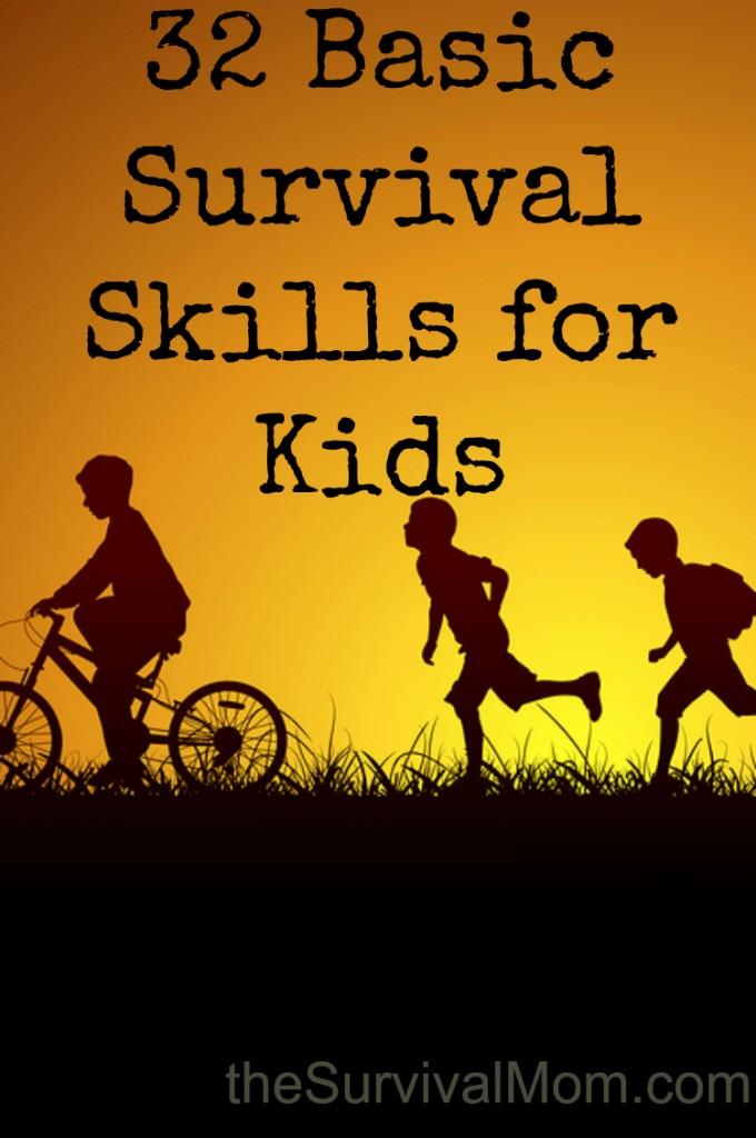 basic survival skills for kids