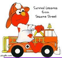 Survival Lessons for Students from Sesame Street
