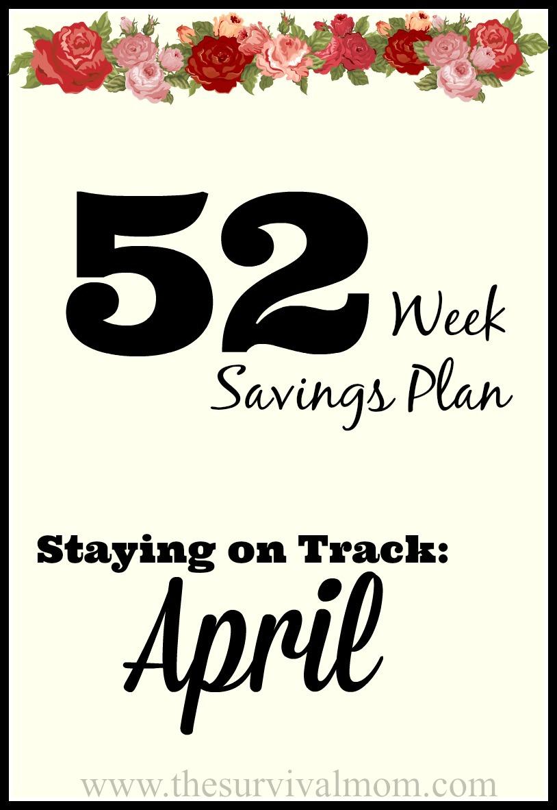 52 Weeks savings plan discounts