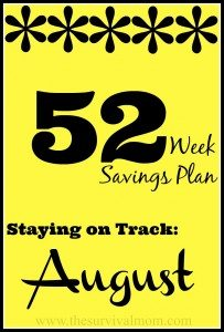 52 Weeks Savings Plan: August Deals Bring Summer To a Close