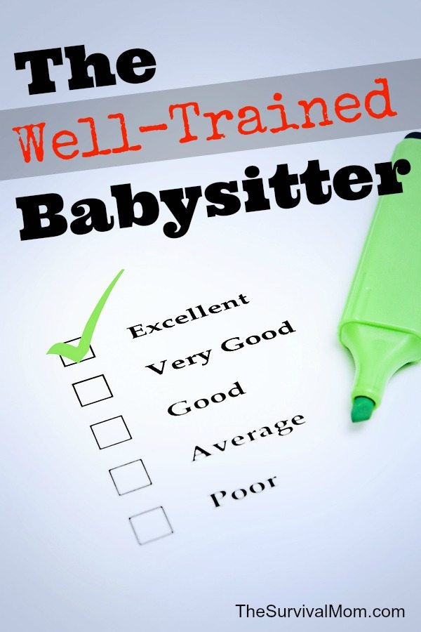 Equip your kid to babysit with this excellent Red Cross babysitter training course. It's online, entertaining, super-helpful. | via www.TheSurvivalMom.com