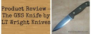 Product Review – The GNS Knife by LT Wright Knives