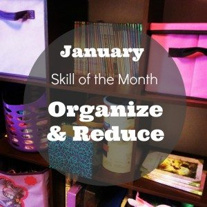 Organize and reduce what you own for a tidy home and more peaceful life. | via www.TheSurvivalMom.com